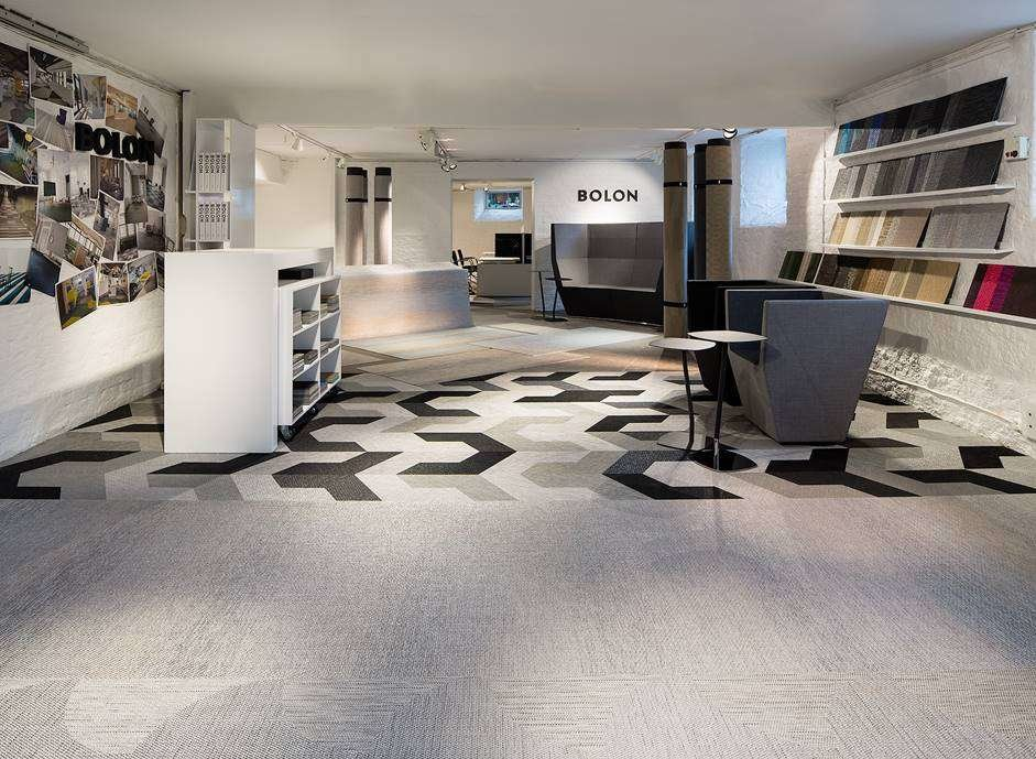Explore our woven floors and rugs in our showroom in Norway